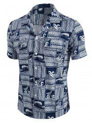 The Way Of The Ocean Graphic Print Shirt -