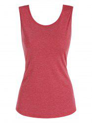 Backless Solid Tank Top -