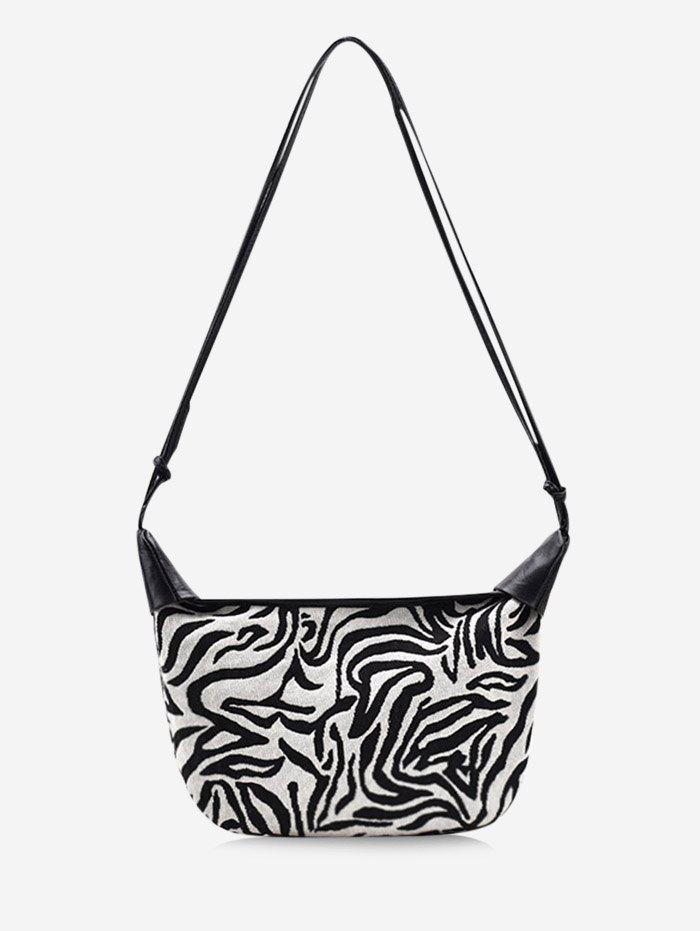 Store Zebra Stripes Pattern Casual Shoulder Bag