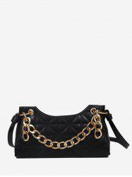 Quilted Chain Shoulder Bag -