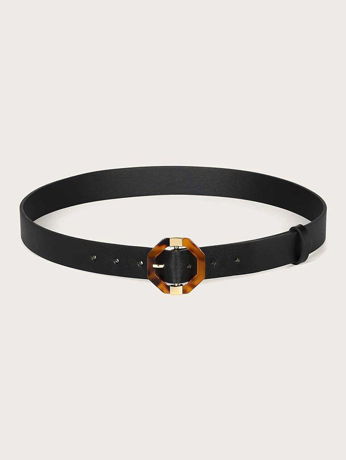 Hot Casual Geometric Pin Buckle Belt