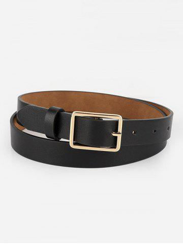 Hollow Square Pin Buckle Belt
