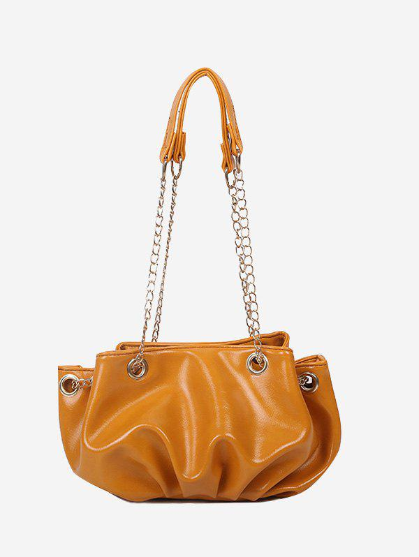 Latest Pleated Chain Strap Shoulder Bag