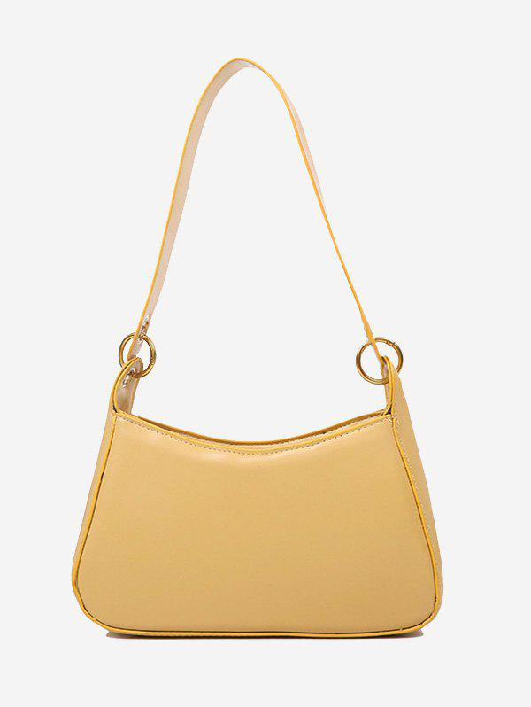 Store Minimalist O Ring Solid Shoulder Bag