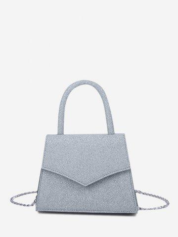 Envelope Chain Cover Handbag - BLUE GRAY