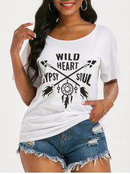 WILD HEART Graphic Short Sleeve Tee -