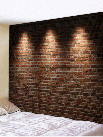 Retro Brick Wall 3D Print Wall Tapestry