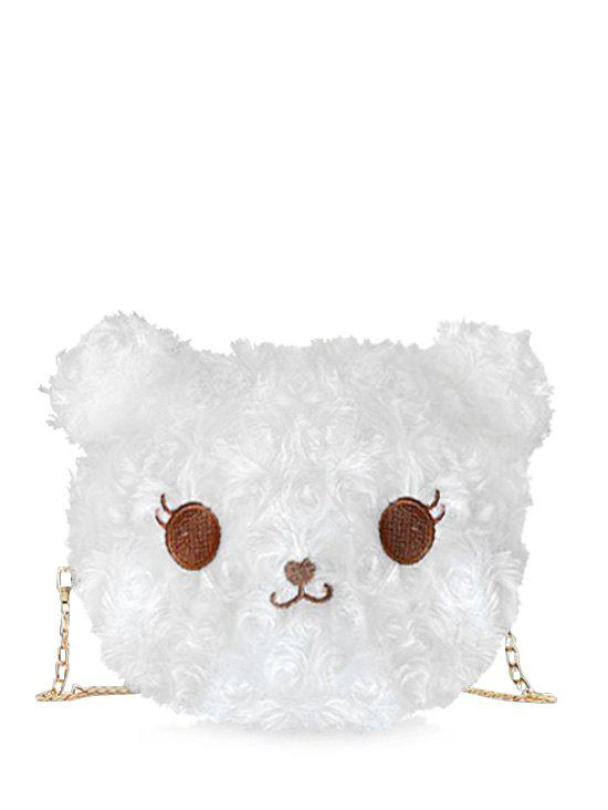 Sale Cartoon Animal Faux Fur Crossbody Bag