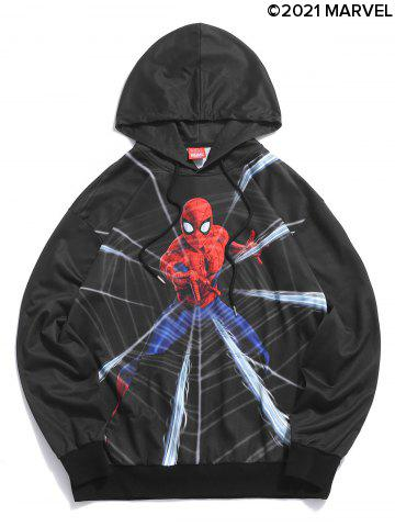 Marvel Spider-Man Pattern Casual Hoodie