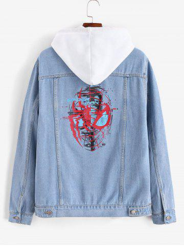Marvel Spider-Man Button Up Denim Jacket