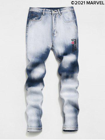 Marvel Spider-Man Faded Wash Jeans