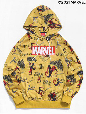 Marvel Spider-Man Comic Graphic Casual Hoodie