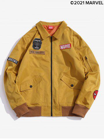 Veste Lettre Badge Marvel Spider-Man