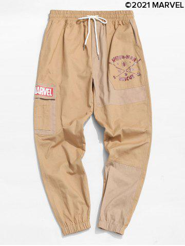 Marvel Spider-Man To The Rescue Pattern Cargo Pants