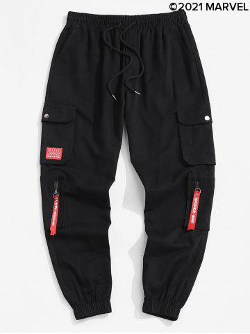 Marvel Spider-Man Patch Cargo Pants
