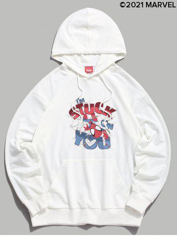 Marvel Spider-Man Print Graphic Hoodie