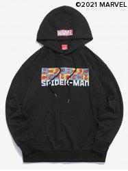 Marvel Spider-Man Graphic Casual Pullover Hoodie -