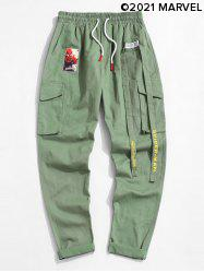 Marvel Spider-Man Patched Cargo Pants -