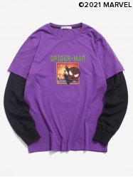 Marvel Spider-Man Graphic Doctor Sleeve T-shirt -