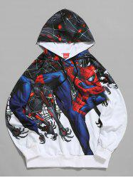 Sweat à Capuche Graphique Marvel Spider-Man - Blanc S