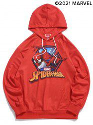 Marvel Spider-Man Graphic Print Hoodie -
