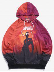 Sweat à Capuche Marvel Spider-Man Teinté - Multi S