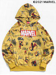 Marvel Spider-Man Comic Graphic Casual Hoodie -