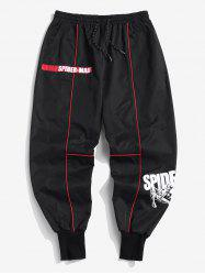 Marvel Spider-Man Contrast Patchwork Casual Pants -