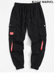 Marvel Spider-Man Patch Cargo Pants -