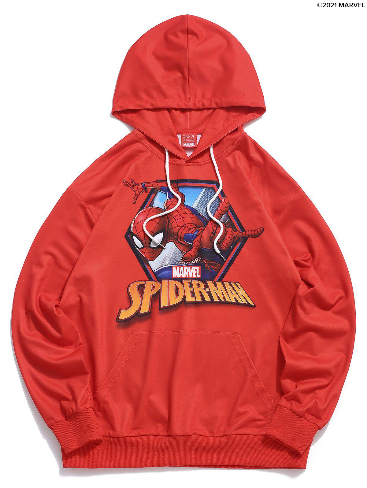 Online Marvel Spider-Man Graphic Print Hoodie