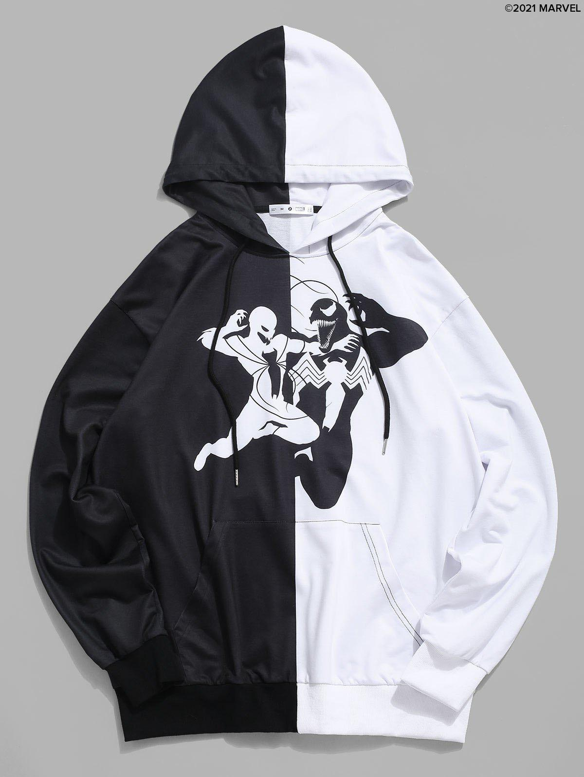 New Marvel Spider-Man Venom Two Tone Hoodie