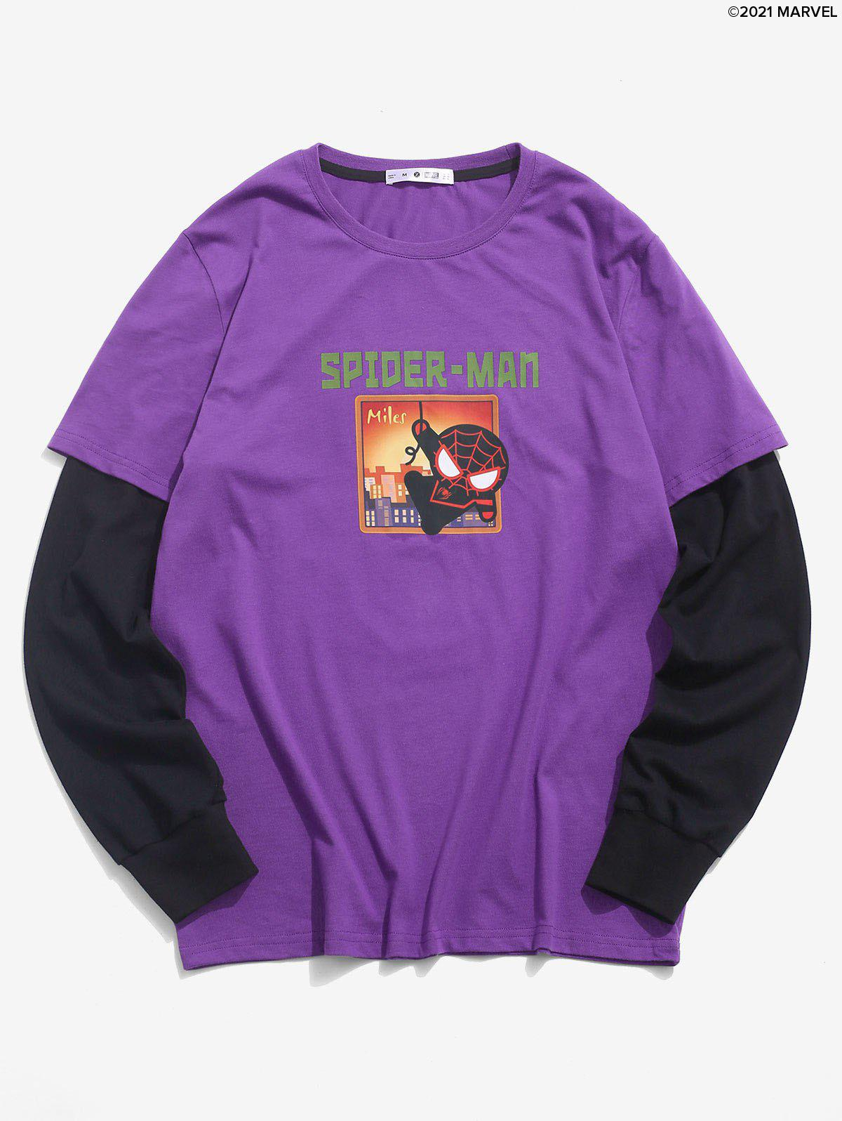 Affordable Marvel Spider-Man Graphic Doctor Sleeve T-shirt