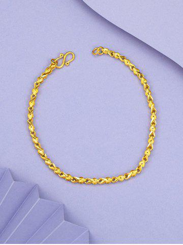 Retro Chain Gold Plated Bracelet
