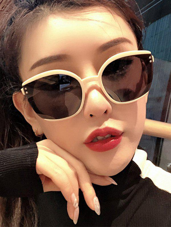 Chic Oversized Butterfly-Frame Stud Sunglasses