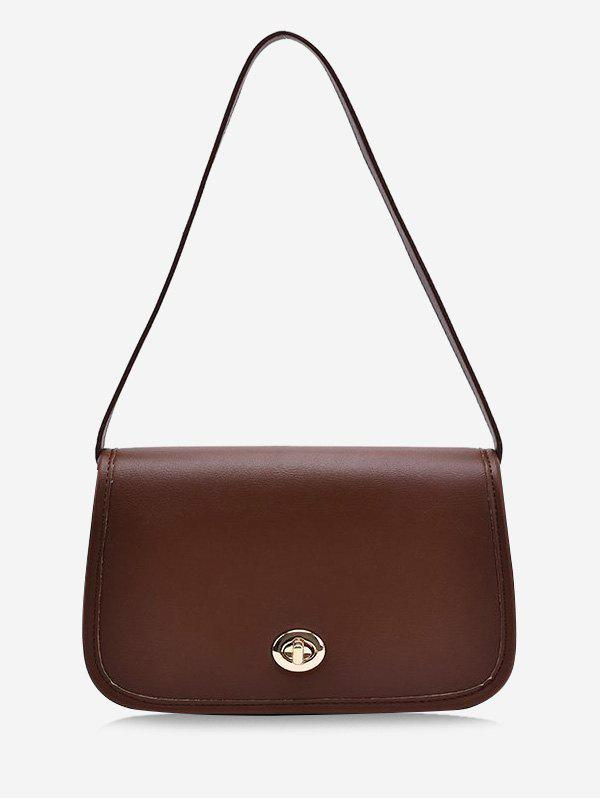 Latest Flap Twist-Lock Shoulder Bag