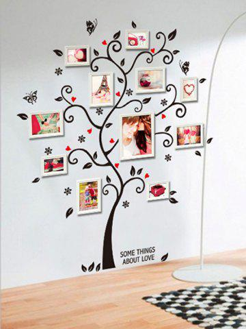 Family Tree Decorative Wall Stickers - MULTI-A - 45X60CM
