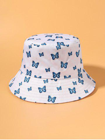 Printed Butterflies Outdoor Bucket Hat