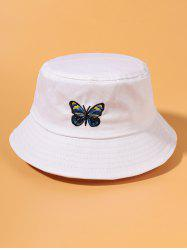 Butterfly Embroidery Outdoor Bucket Hat -