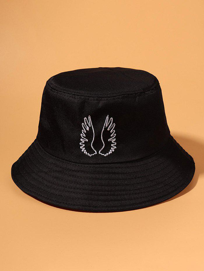 Hot Embroidered Pattern Wing Outdoor Bucket Hat