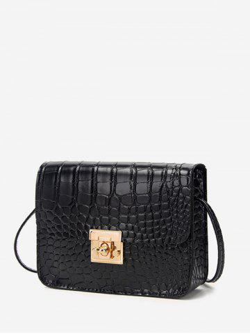 Square Embossed Mini Crossbody Bag