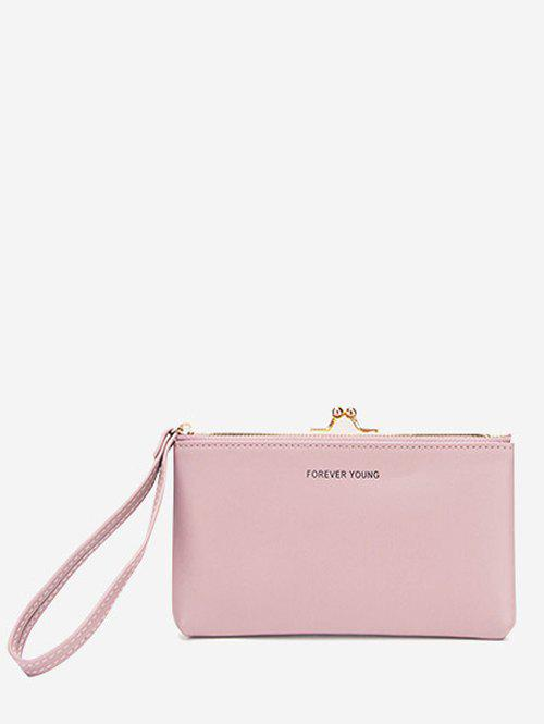 Outfit Letter Print Multi-purpose Clutch Bag