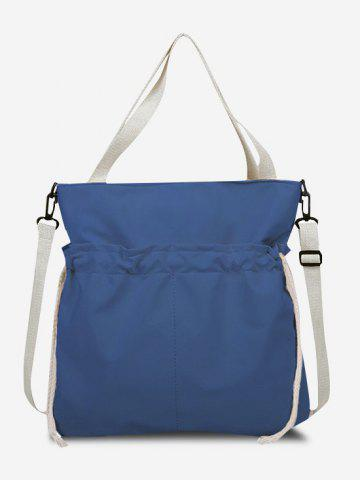 Drawstring Dual Handle Tote Bag