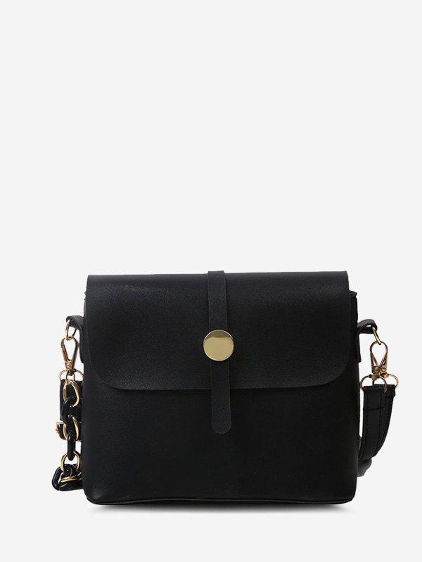 Latest Solid Double Strap Crossbody Bag
