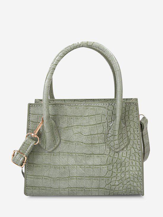 Trendy Textured Square Solid Handbag