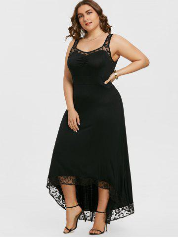 Plus Size High Low Maxi Party Dress
