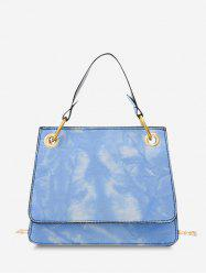 Tie Dye Dual Handle Crossbody Bag -