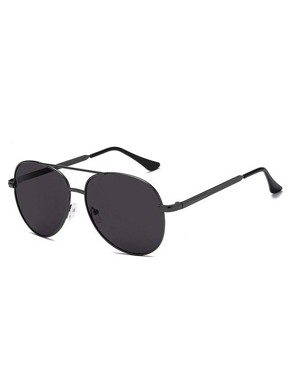 Hot Oval Shape Crossbar Sunglasses