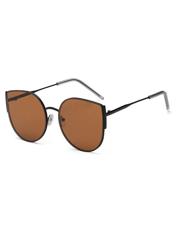 Chic Metal Frame Round Shape Sunglasses