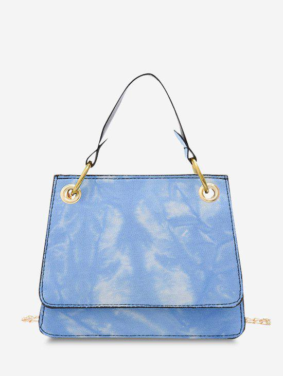 Cheap Tie Dye Dual Handle Crossbody Bag