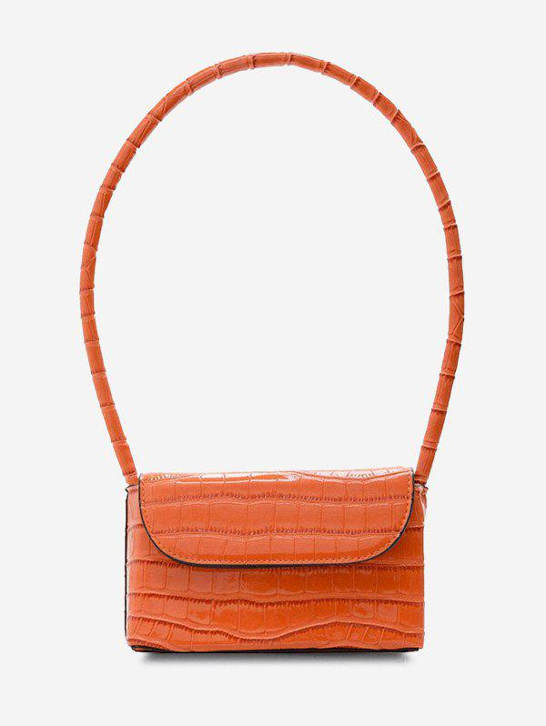 Latest Boxy Embossed Mini Shoulder Bag